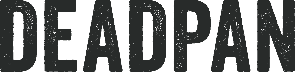 Deadpan logotype